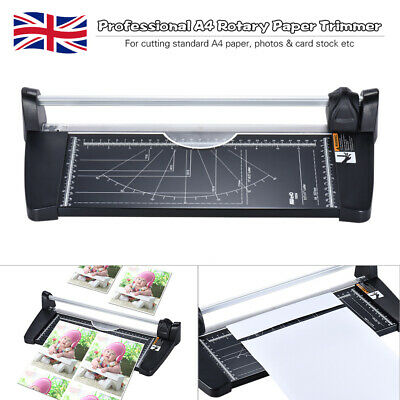 Professional A4 Rotary Paper Trimmer Cutters Guillotine with 10 Sheets Y8N3