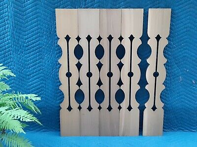 2Nd Empire Cedar Flat Sawn Stairway Baluster - Victorian (Sample Or Quanity)