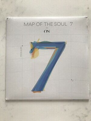 """BTS ON - Map Of The Soul 7- Limited Edition 7"""" Vinyl Record- New- US Seller"""