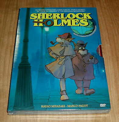 Sherlock Holmes Series Complete 4 DVD New Remastered Animation (No Open R2