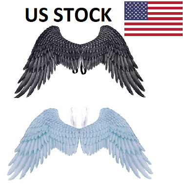 Halloween 3D Angel Devil Big Wings Cosplay Large Wings For Human USA Stock