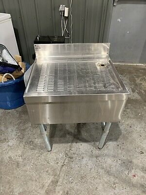 Stainless Free-Standing Drainboard 24x21