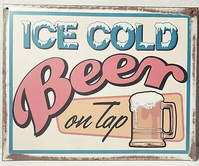 Cook/'s Goldblume Beer Lager Brewery Metal Sign MAN CAVE GARAGE Body Shop ami045