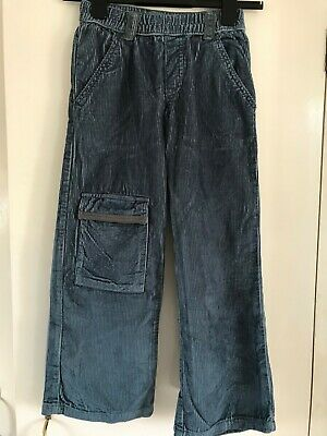 Boys La Redoute Chunky Cords Air Force Blue NWOT age 7-8?