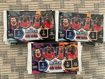 25 x BRAND NEW Match Attax TOPPS Season 20/21 Packets / Packs - £1 sets