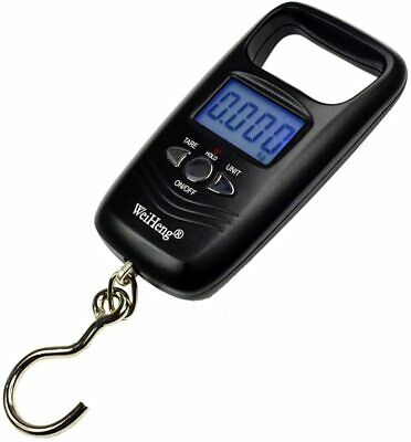 Digital Hanging Fish Scale Luggage Travel 110lb/50kg LCD Backlit Balance Weight