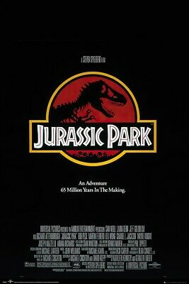 "JURASSIC PARK - MOVIE POSTER (REGULAR STYLE) (SIZE: 24"" x 36"")"