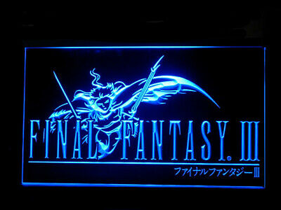 J550B Final Fantasy VII FF7 For Display Decor Light Sign