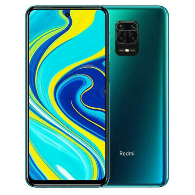 "Xiaomi Redmi Note 9S 4GB 64GB Quad cam AI 48MP 6.67""FHD+ 5020mAh Global BLUE BLU"