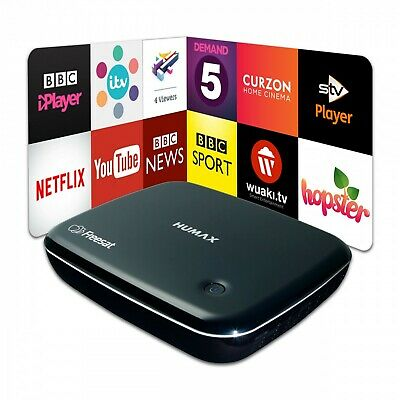 Humax HB-1100S Freesat HD Satellite Receiver with Catch up TV, Netflix, Wi-Fi