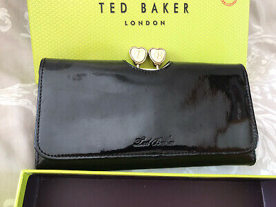Ted baker Black Patent Purse