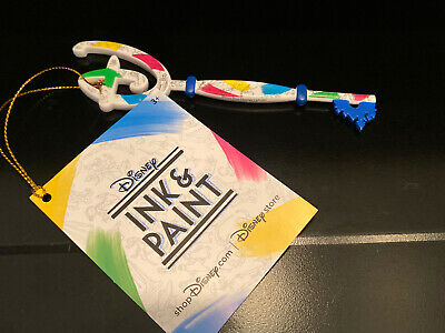Disney Ink /& Paint Key NEW W// Tag Limited Edition Collectible