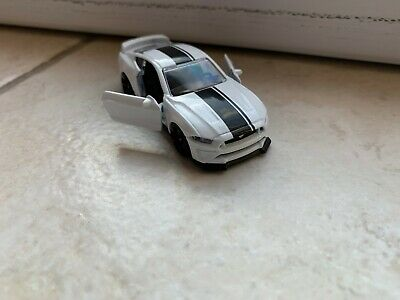Majorette 2019 Premium Cars Ford Mustang Gt Weiss 1/64 Ohne Ovp