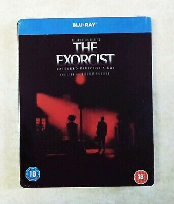 The Exorcist - Extended Cut (Blu-ray, Region Free) Steelbook BRAND NEW & SEALED