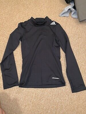 Black Adidas Base Layer Skins Climawarm 7-8 Techfit