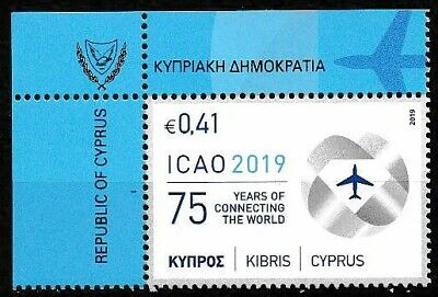 Cyprus 2019 75 Ann Int Civil Aviation SC 1318 MNH Mint/Never Hinged