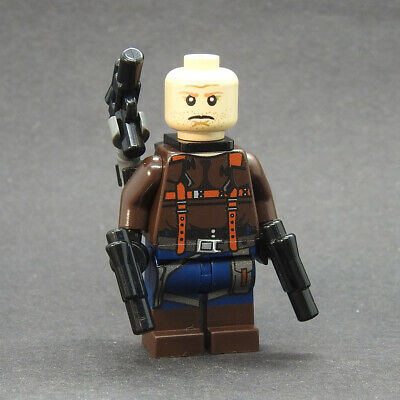 Custom Star Wars minifigures Hem Dazon cantina patron on lego brand bricks
