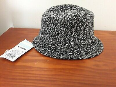 Baby boys fedora size newborn brand Cat &Jack NWT color gray and white