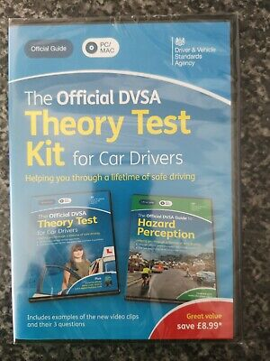 The official dvsa theory test kit 2020 for car drivers - Brand new.