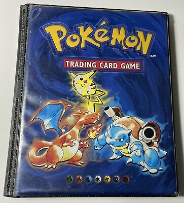 Vintage 1998 Pokemon Card Binder