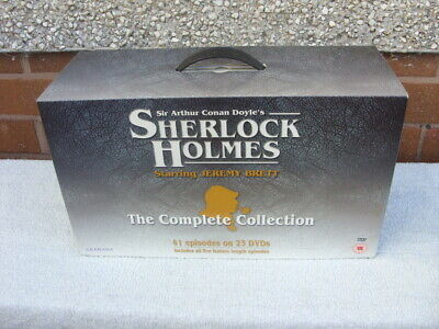 Sherlock Holmes Complete Collection - 23 Disc DVD Set