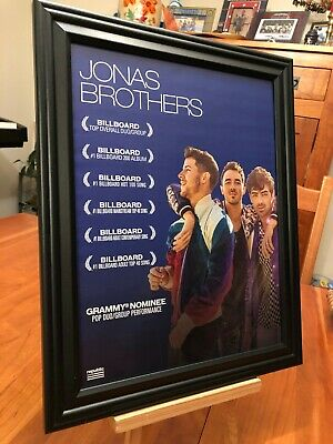 """BIG 10x13 FRAMED LUKE COMBS /""""WHAT YOU SEE IS.. 2020 GRAMMY NOMINEE/"""" ALBUM AD"""