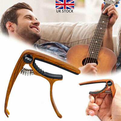 Premium Guitar Capo Nordell Quick Change Trigger Clamp for Acoustic Electric UK