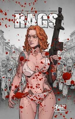 RAGS, tome 1 (BLOODY EDITION)  -  BD érotico-horrifique  -  Second tirage