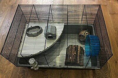 Pets At Home Large Grey Hamster Cage 20 00 Picclick Uk
