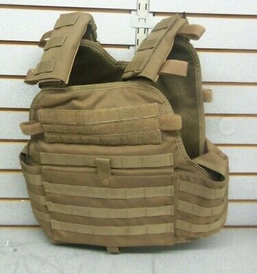 NcStar TAN Police Military Tactical MOLLE   Carrier Vest
