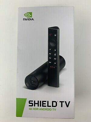 NVIDIA - SHIELD Android TV - 8GB - 4K HDR Streaming Media Player with Google ...