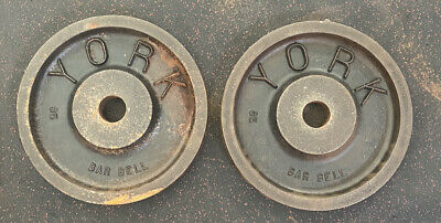 PRICE PER PLATE Vintage York Milled And International CANADA Deep Dish Weights