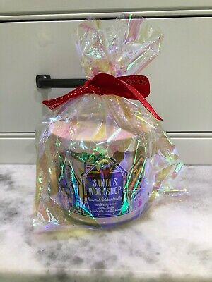 1 Bath /& Body Works SANTA/'S WORK SHOP SUGARED SNICKERDOODLE 3-Wick Candle Large