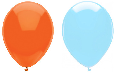 """Multipack Arch 12/"""" Weddings White and Orange Birthday Party Balloons"""