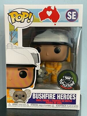 Vinyl #SE PopCultcha RSPCA Bushfire Heroes Pre Purchase AUS EXCLUSIVE Funko POP