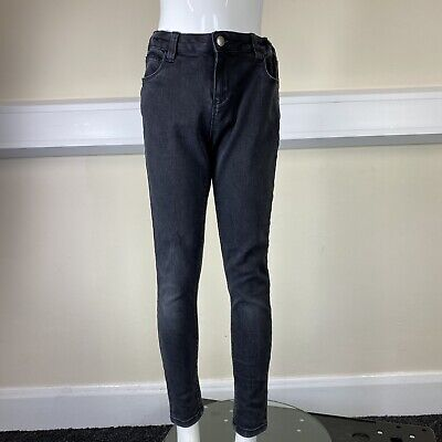 Denim Co Boys Black Denim Skinny Leg Jeans Trousers Pants UK Age 10-11 Years