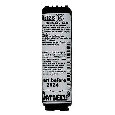 BAT28 BAT38 Batteria Lithium Thionyle 3,6 2Ah comp. Logisty BATLi28 BATLi38.