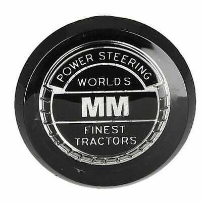 Steering Wheel Medallion Cap Compatible with Minneapolis Moline M670 Jet Star 3
