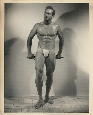 BUY 2 GET 1 FREE WWII rare sailor navy PHOTO Physique beefcake Gay interest