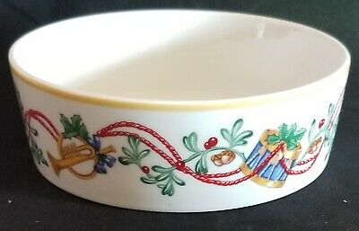 Block Spal Whimsy Christmas Coupe Cereal Bowls
