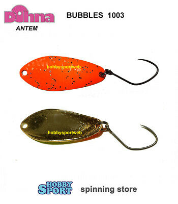 BS16 ONDULANTE JAPAN TROUT AREA SPIN ANTEM SPOON DOHNA  GLITTER 2,5 GR COL