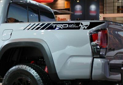 Hood Vinyl Stickers Decal fit to Tacoma 16-19 TRD 4x4 Sport Off Road NO Scoop