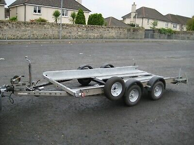 Brian James Twin Axle Club Style Car Transport/ Trailer In Excellent Condition.