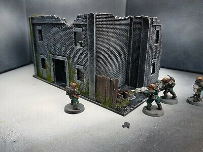 28mm 3 Story House Building Flat Roof Modular Bolt Action Warhammer Infinity