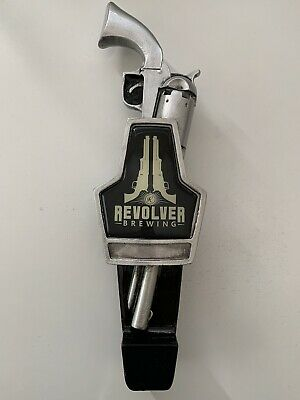 """Brand New In Box RARE! Revolver Brewing Company Beer Tap Handle 11.5"""" Tall"""