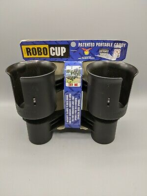 ROBOCUP CLAMP ON HOLDER CADDY DRINK//CUP//BOAT//FISHING POLES//GOLF CART//TAILGATING!