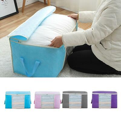 Underbed Clothes Storage Bags Ziped Organizer Wardrobe Cube Closet Boxes Hot