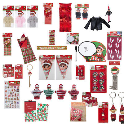 Elf Accessories Props Stock on the Shelf Ideas Kit Christmas Games Elf Clothes