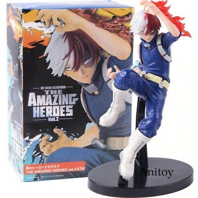Anime My Hero Academia The Amazing Heroes Vol 2 SHOTO TODOROKI Figure 7.5/""