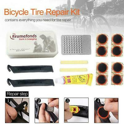 Portable Bicycle Bike Tire Repair Kits Tools Patch Rubber Equipment Cycling R4N3